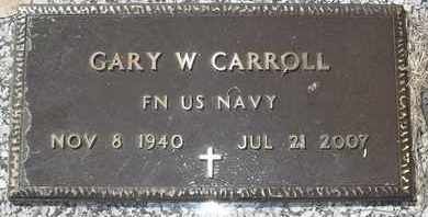 CARROLL, GARY W - Morgan County, Missouri | GARY W CARROLL - Missouri Gravestone Photos