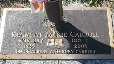 CARROLL, KENNETH JACKIE - Morgan County, Missouri | KENNETH JACKIE CARROLL - Missouri Gravestone Photos