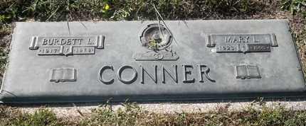 CONNER, BURDETT - Morgan County, Missouri | BURDETT CONNER - Missouri Gravestone Photos