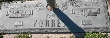 FORREST, RUBY M - Morgan County, Missouri   RUBY M FORREST - Missouri Gravestone Photos
