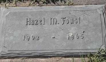 FOUST, HAZEL M - Morgan County, Missouri | HAZEL M FOUST - Missouri Gravestone Photos