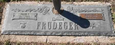 FRUDEGER, FRANK C - Morgan County, Missouri   FRANK C FRUDEGER - Missouri Gravestone Photos