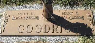 GOODRICH, ORIN K - Morgan County, Missouri | ORIN K GOODRICH - Missouri Gravestone Photos