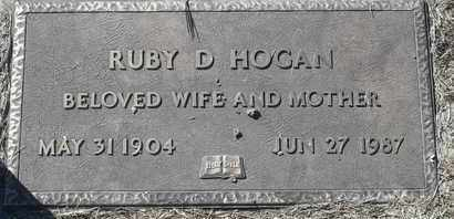 HOGAN, RUBY D - Morgan County, Missouri   RUBY D HOGAN - Missouri Gravestone Photos