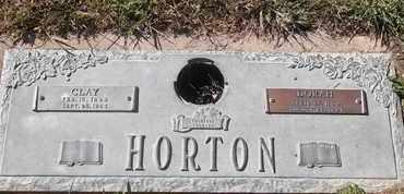 HORTON, DORAH - Morgan County, Missouri | DORAH HORTON - Missouri Gravestone Photos