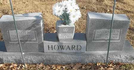 HOWARD, EDITH L - Morgan County, Missouri | EDITH L HOWARD - Missouri Gravestone Photos