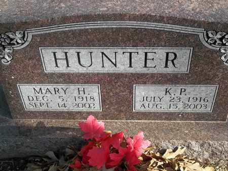 HUNTER, K P - Morgan County, Missouri | K P HUNTER - Missouri Gravestone Photos