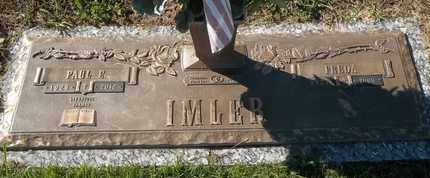 IMLER, FREDA - Morgan County, Missouri | FREDA IMLER - Missouri Gravestone Photos