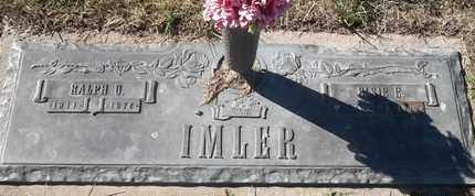 IMLER, ELSIE E - Morgan County, Missouri | ELSIE E IMLER - Missouri Gravestone Photos