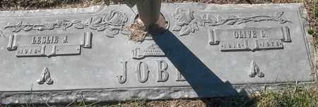 JOBE, OLIVE L - Morgan County, Missouri   OLIVE L JOBE - Missouri Gravestone Photos