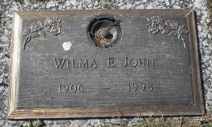 JOHN, WILMA E - Morgan County, Missouri | WILMA E JOHN - Missouri Gravestone Photos