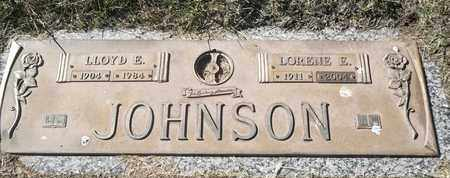 JOHNSON, LORENE E - Morgan County, Missouri | LORENE E JOHNSON - Missouri Gravestone Photos