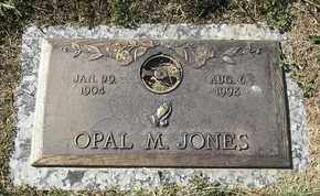 JONES, OPAL M - Morgan County, Missouri | OPAL M JONES - Missouri Gravestone Photos