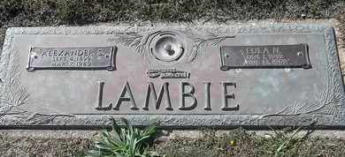 LAMBIE, EULA N - Morgan County, Missouri | EULA N LAMBIE - Missouri Gravestone Photos