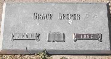 LEEPER, GRACE - Morgan County, Missouri   GRACE LEEPER - Missouri Gravestone Photos