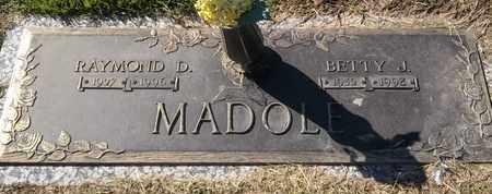 MADOLE, RAYMOND D - Morgan County, Missouri | RAYMOND D MADOLE - Missouri Gravestone Photos