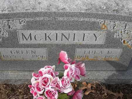 MCKINLEY, GREEN - Morgan County, Missouri | GREEN MCKINLEY - Missouri Gravestone Photos