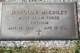 MCKINLEY, JERROLD R - MILITARY - Morgan County, Missouri   JERROLD R - MILITARY MCKINLEY - Missouri Gravestone Photos