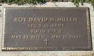 MCMILLEN, ROY DAVID - MILITARY - Morgan County, Missouri | ROY DAVID - MILITARY MCMILLEN - Missouri Gravestone Photos
