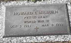 MILBURN, HOWARD E - MILITARY - Morgan County, Missouri   HOWARD E - MILITARY MILBURN - Missouri Gravestone Photos