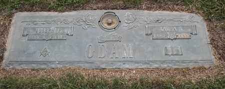 ODAM, JOSEPH F - Morgan County, Missouri | JOSEPH F ODAM - Missouri Gravestone Photos