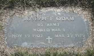 ODAM, JOSEPH F VETERAN WWI - Morgan County, Missouri | JOSEPH F VETERAN WWI ODAM - Missouri Gravestone Photos