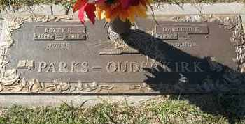 PARKS-OUDERKIRK, BETTY - Morgan County, Missouri | BETTY PARKS-OUDERKIRK - Missouri Gravestone Photos