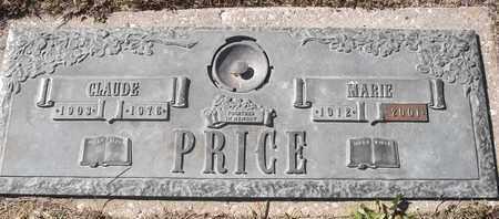 PRICE, CLAUDE - Morgan County, Missouri | CLAUDE PRICE - Missouri Gravestone Photos