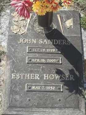 SANDERS, JOHN - Morgan County, Missouri | JOHN SANDERS - Missouri Gravestone Photos
