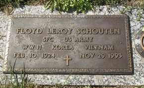 SCHOUTEN, FLOYD LEROY - Morgan County, Missouri | FLOYD LEROY SCHOUTEN - Missouri Gravestone Photos