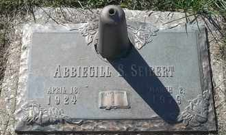 SEIBERT, ABBIEGILL - Morgan County, Missouri   ABBIEGILL SEIBERT - Missouri Gravestone Photos