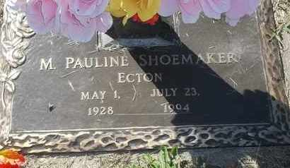 ECTON SHOEMAKER, M PAULINE - Morgan County, Missouri | M PAULINE ECTON SHOEMAKER - Missouri Gravestone Photos