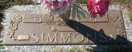 SIMMONS, IDA M - Morgan County, Missouri | IDA M SIMMONS - Missouri Gravestone Photos