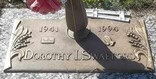 SWAFFORD, DOROTHY I - Morgan County, Missouri | DOROTHY I SWAFFORD - Missouri Gravestone Photos