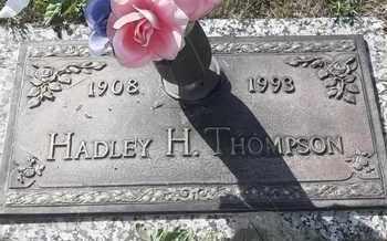 THOMPSON, HADLEY H - Morgan County, Missouri | HADLEY H THOMPSON - Missouri Gravestone Photos
