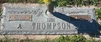 THOMPSON, NORMAN H - Morgan County, Missouri   NORMAN H THOMPSON - Missouri Gravestone Photos