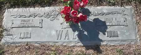 WALL, HOBART E - Morgan County, Missouri | HOBART E WALL - Missouri Gravestone Photos