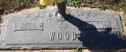 WOOD, MARY P - Morgan County, Missouri | MARY P WOOD - Missouri Gravestone Photos