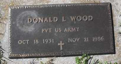 WOOD, DONALD L - Morgan County, Missouri | DONALD L WOOD - Missouri Gravestone Photos