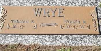 WRYE, EVELYN M - Morgan County, Missouri | EVELYN M WRYE - Missouri Gravestone Photos