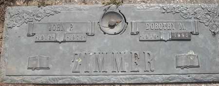 ZIMMER, DOROTHY M - Morgan County, Missouri | DOROTHY M ZIMMER - Missouri Gravestone Photos