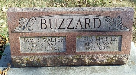 BUZZARD, JAMES WALTER - Newton County, Missouri | JAMES WALTER BUZZARD - Missouri Gravestone Photos