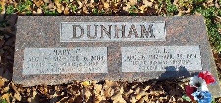 CONCH DUNHAM, MARY CLAIR THERESA - Newton County, Missouri | MARY CLAIR THERESA CONCH DUNHAM - Missouri Gravestone Photos