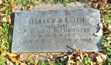 KEITH, HARVEY B VETERAN - Newton County, Missouri   HARVEY B VETERAN KEITH - Missouri Gravestone Photos