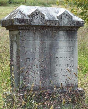 RHODES EDMISTEN, ELIZABETH C - Newton County, Missouri | ELIZABETH C RHODES EDMISTEN - Missouri Gravestone Photos