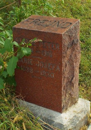 ZIMMERMAN FREUND, MARIE ANN JOSEFA - Newton County, Missouri | MARIE ANN JOSEFA ZIMMERMAN FREUND - Missouri Gravestone Photos