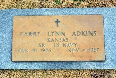 ADKINS, LARRY LYNN VETERAN - Newton County, Missouri   LARRY LYNN VETERAN ADKINS - Missouri Gravestone Photos