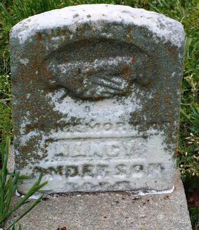 ANDERSON, NANCY - Newton County, Missouri   NANCY ANDERSON - Missouri Gravestone Photos