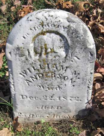 ANDERSON, WILLIAM M - Newton County, Missouri | WILLIAM M ANDERSON - Missouri Gravestone Photos