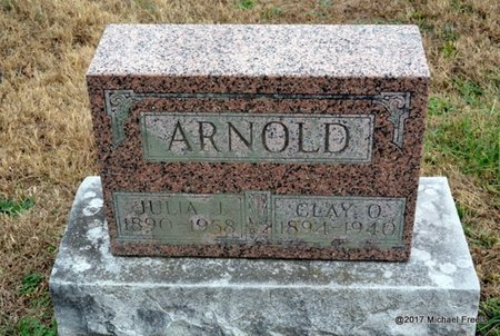 ARNOLD, CLAY O. - Newton County, Missouri | CLAY O. ARNOLD - Missouri Gravestone Photos